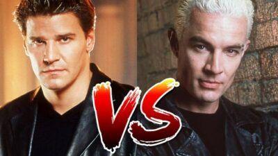 Sondage : le match ultime, tu préfères Angel ou Spike dans Buffy contre les vampires ?
