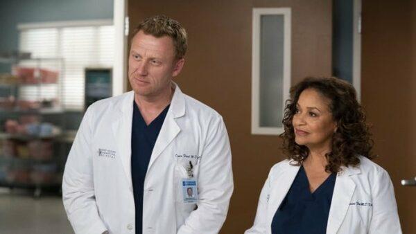 Kevin McKidd et Debbie Allen Grey's Anatomy