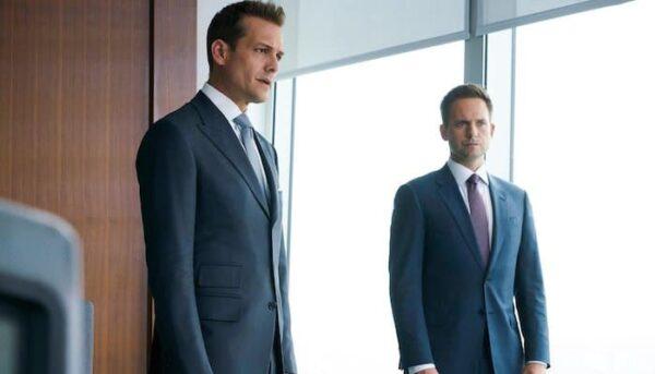 Suits Harvey et Mike