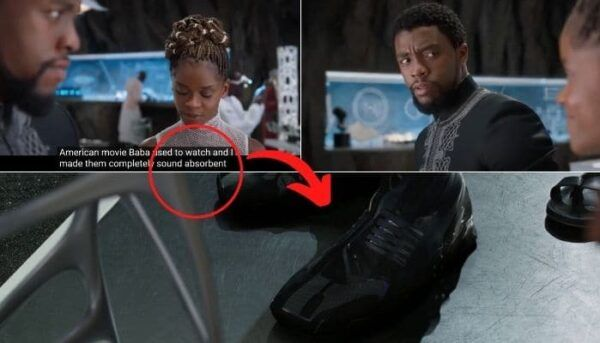 Black Panther erreurs