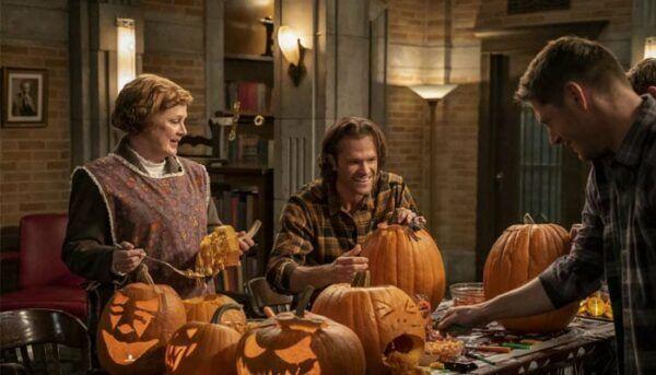 Citrouilles Supernatural saison 15 Halloween