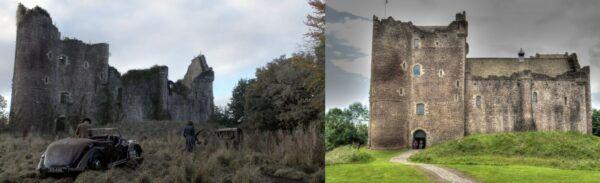 outlander, castle leoch, doune castle