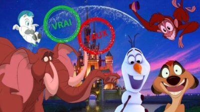 Impossible d'avoir 10/10 à ce quiz vrai ou faux sur les compagnons Disney