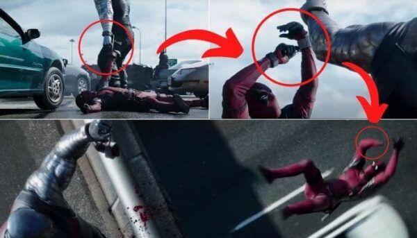 Deadpool erreurs