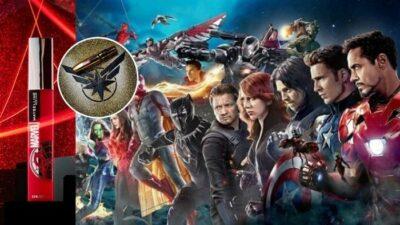 Minute cool : Maybelline a sorti une collection 100% super-héros dédiée à l'univers Marvel