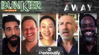 Away : l'interview bunker du casting de la série Netflix