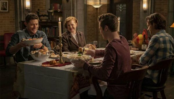 supernatural diner saison 15 halloween