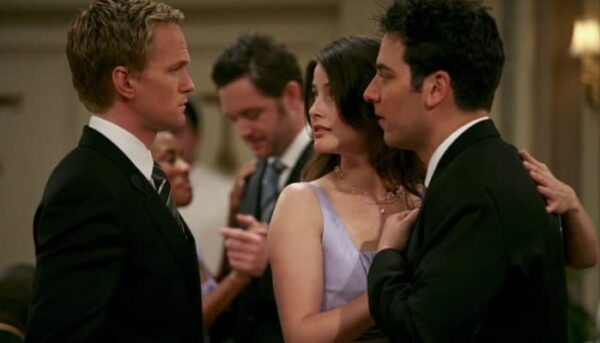 ted robin barney how i met your mother