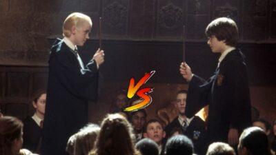 Sondage : le match ultime, tu préfères Harry Potter ou Drago Malefoy ?