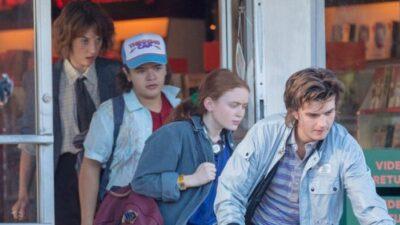 Stranger Things saison 4 : les jeunes héros repartent à l'aventure dans de nouvelles photos de tournage