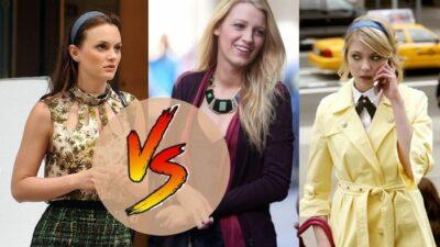 Sondage  : le match ultime, tu préfères Blair, Serena ou Jenny de Gossip Girl ?