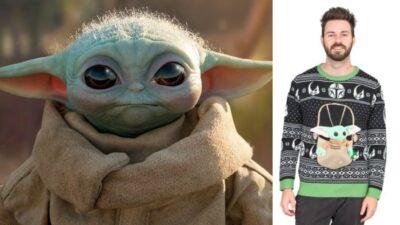 The Mandalorian : cet horrible pull de Noël Bébé Yoda que les fans vont s'arracher