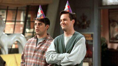 Friends : voici combien d'argent Joey doit à Chandler au total