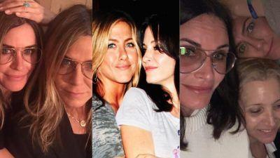 Friends : les meilleures photos de BFF de Jennifer Aniston et Courteney Cox