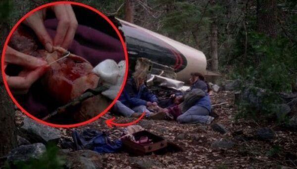 Grey's Anatomy crash d'avion Derek