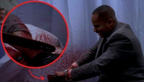 Grey's Anatomy tronçonneuse