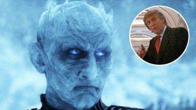 Game of Thrones: Le Roi de la Nuit trolle Trump sur Twitter et dit avoir gagné la bataille de Winterfell