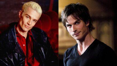 Sondage : vote pour ton vampire préféré entre Spike et Damon