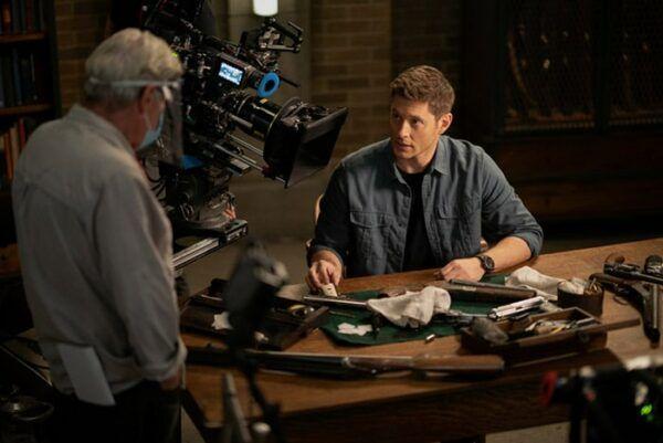 Supernatural Dean Jensen Ackles tournage