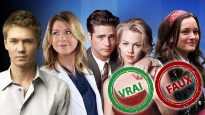 Impossible d'avoir 10/10 à ce quiz vrai ou faux sur les séries diffusées sur TF1