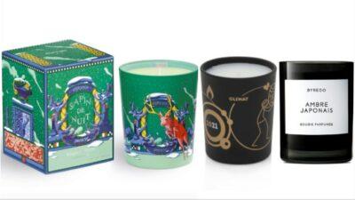 Byredo, Molinard, Diptyque, Baïja : la sélection bougies de Noël