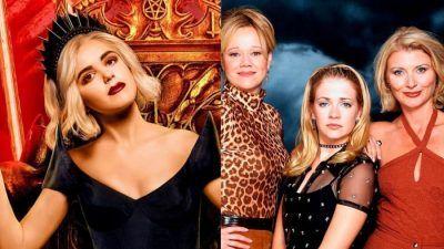 Sabrina saison 4 : surprise, les stars de la sitcom Sabrina l'apprentie sorcière débarquent (Extrait)