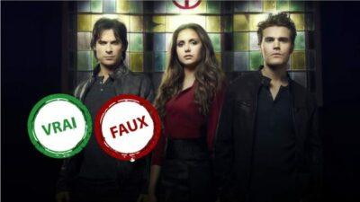 The Vampire Diaries : impossible d'avoir 10/10 à ce quiz vrai ou faux sur la série