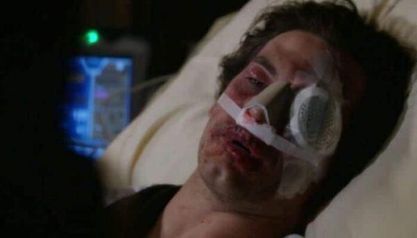 Grey's Anatomy Andrew DeLuca blessé