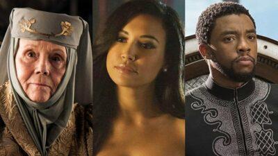 Naya Rivera, Diana Rigg, Chadwick Boseman… 15 stars de séries décédées en 2020