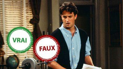 Friends : impossible d'avoir 10/10 à ce quiz vrai ou faux sur Chandler