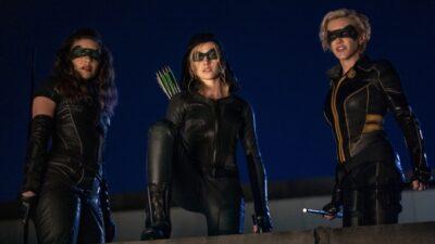 Arrow : Katherine McNamara réagit à l'annulation du spin-off Green Arrow and the Canaries