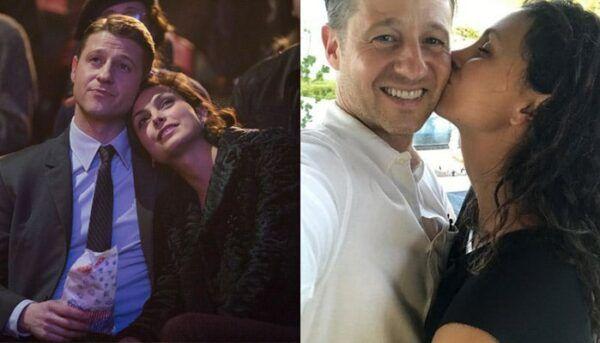 Ben McKenzie et Morena Baccarin Gotham