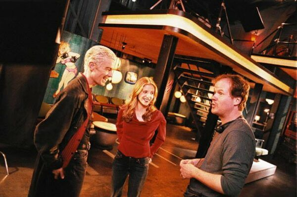 Buffy coulisses tournage