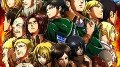 Sondage : vote pour ton personnage préféré de L'Attaque des Titans (SNK)