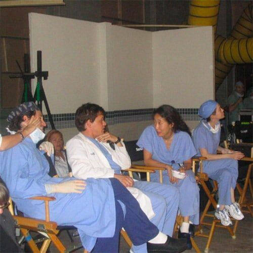Grey's Anatomy Coulisses tournage