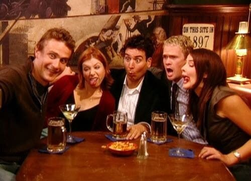 HIMYM coulisses tournage