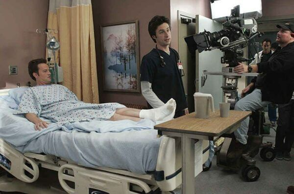 Scrubs coulisses tournage