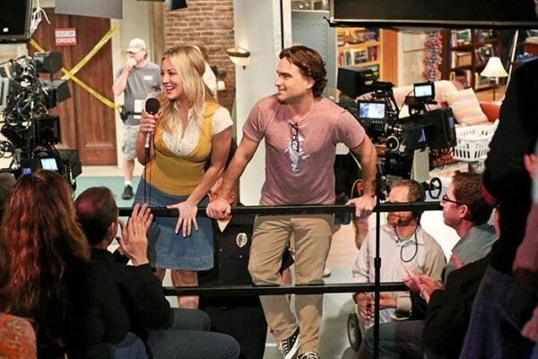 The Big Bang Theory coulisses tournage