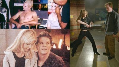 Buffy contre les vampires : 10 photos de coulisses de la série culte qui vont vous rendre nostalgiques