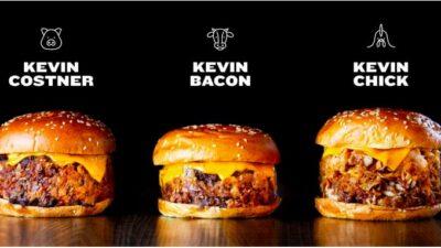 Costner, Bacon… Goiko rend hommage aux célèbres Kevin avec de délicieux burgers