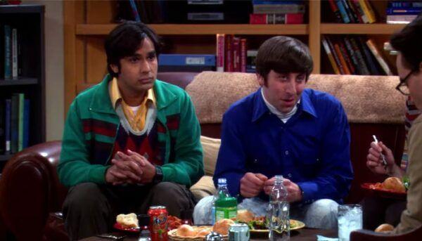 raj howard the big bang theory