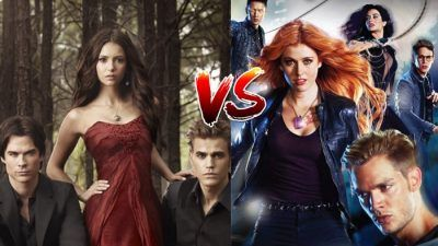 Sondage : le match ultime, tu préfères The Vampire Diaries ou Shadowhunters ?