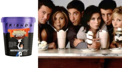 Friends : et si on déménageait aux Etats-Unis pour goûter cette glace dédiée à la série culte ?
