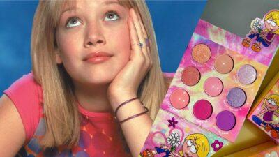 Lizzie McGuire x ColourPop : la collection de maquillage qui va vous replonger dans les années 2000