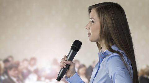 De parler en public