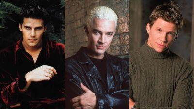 Sondage Buffy : kiss, marry, kill avec Spike, Angel et Riley