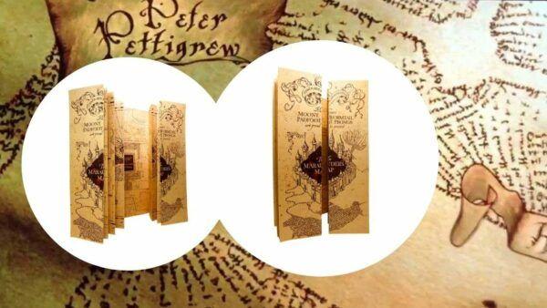 carte-du-maraudeur Harry Potter