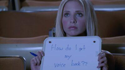 Buffy contre les vampires : seul quelqu'un qui a vu 5 fois l'épisode muet aura tout bon à ce quiz