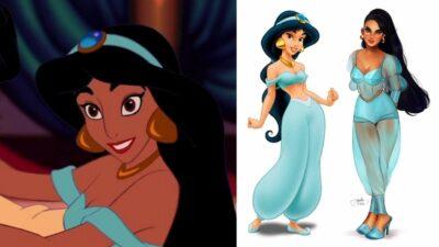 Disney : cette artiste transforme les princesses en icônes de mode