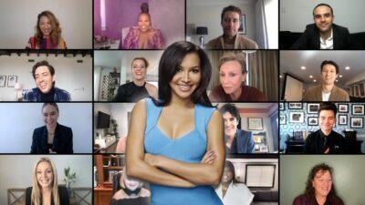 Glee : le casting s'est réuni pour rendre un hommage émouvant à Naya Rivera, découvrez les images